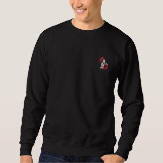 Suéter Bordado Lebreiro minha camisola bordada camisa de Bill do