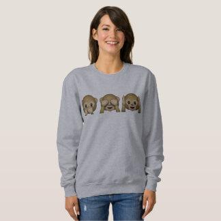 Suéter Emoji Macaquinhos