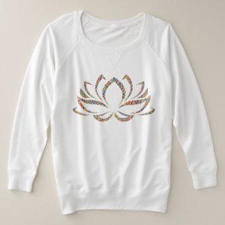 Suéter Plus Size Camisola de Lotus