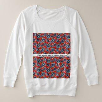 Suéter Plus Size é de amor