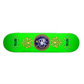 Sugestão bicentenária da opinião do logotipo do ca skate personalizado