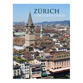 suiça de Zurique Cartão Postal