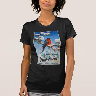 Suiça suíça do ar das férias de Pontresina do Camiseta