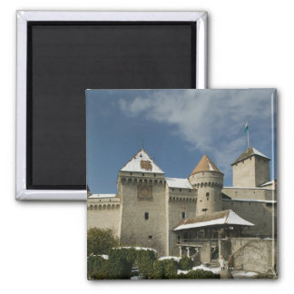 SUIÇA, Vaud), suíço Riviera, MONTREUX: Ímã Quadrado