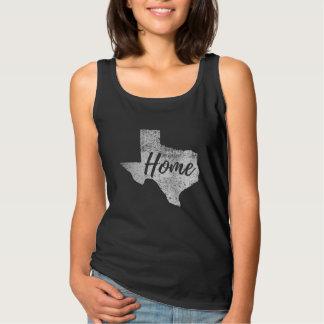 Sujo afligido alguma camisa Home de Texas da cor