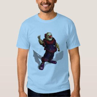 Sujo o palhaço t-shirt