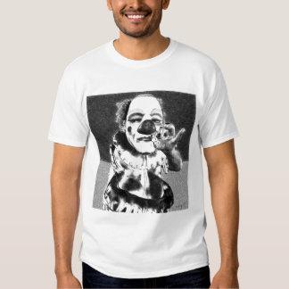 Sujo o palhaço tshirts