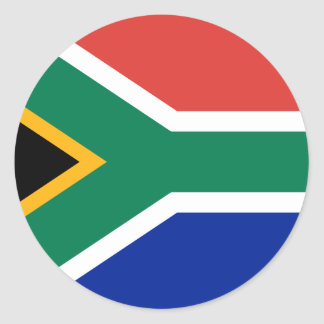Sul - bandeira africana adesivo