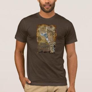Sul manchado de Jaguar - t-shirt americano do gato Camiseta