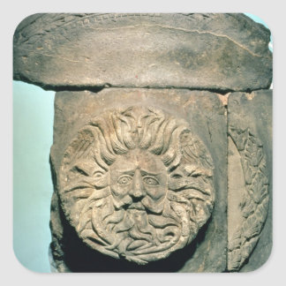Sul, um deus britânico nativo, período romano adesivo em forma quadrada