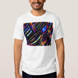 Sulfato dos elementos/zinco sob o microscópio t-shirts