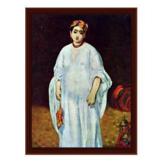Sultões do La por Manet Edouard Cartão Postal