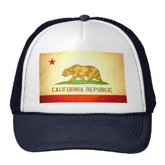 Sun beijou a bandeira de Califórnia Bonés