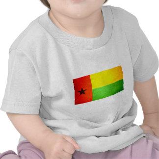 Sun beijou a bandeira de Guiné-Bissau Camiseta