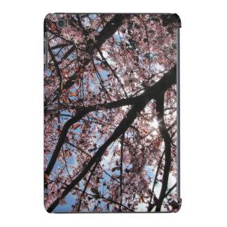 Sun e flores de cerejeira capa para iPad mini retina