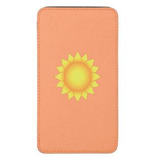 Sun feminino bonito bolsa de celular