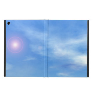 Sun no fundo do céu - 3D rendem Capa Para iPad Air