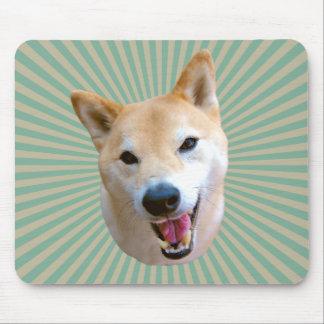 Sunburst de sorriso Mousepad de Barkley