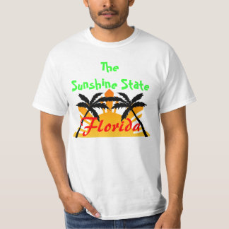Sunshine state Florida T-shirt