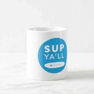 SUP o caneca de café