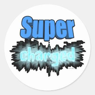 Super carregado adesivo