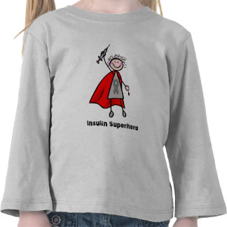 Super-herói da insulina tshirts