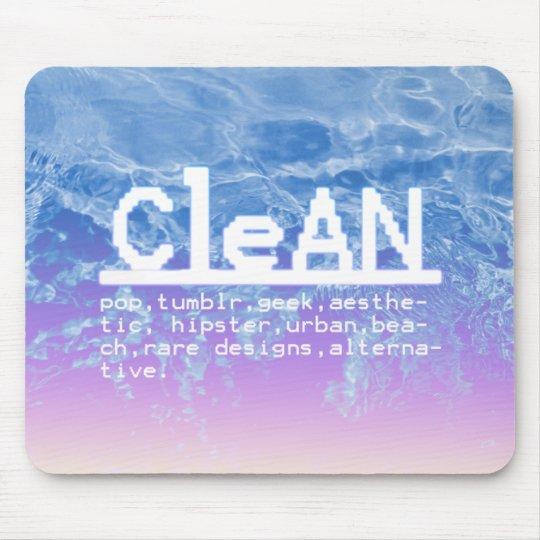 Super mouse pad Clean Logo