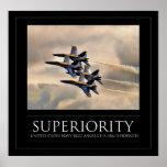 Superioridade - anjos de azuis marinhos posteres
