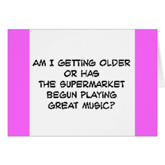 supermusic cartão comemorativo