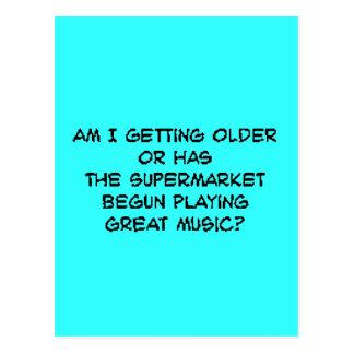 supermusic cartão postal