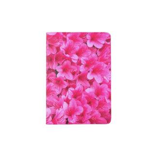 Suporte cor-de-rosa bonito do passaporte capa para passaporte