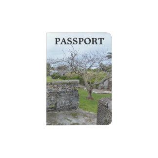 Suporte do passaporte capa para passaporte
