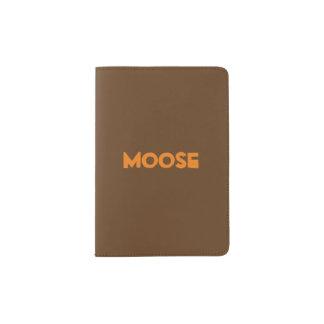 Suporte do passaporte dos alces capa para passaporte
