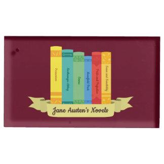Suporte Para Cartão De Mesa As novelas de Jane Austen III