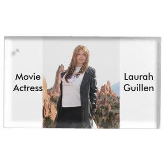 Suporte Para Cartão De Mesa Atriz Laura Guillen aka Ishah do filme