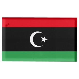 Suporte Para Cartão De Mesa Bandeira de Líbia