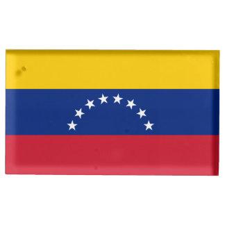 Suporte Para Cartão De Mesa Bandeira de Venezuela