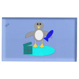 Suporte Para Cartão De Mesa Feliz Natal que pesca o titular do cartão da mesa