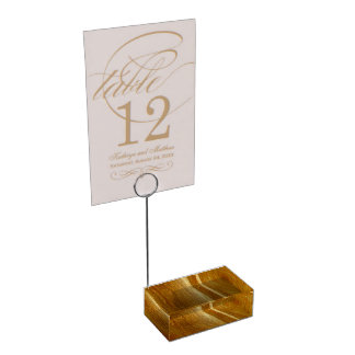 Suporte Para Cartão De Mesa Textura de madeira do falso da madeira de pinho II