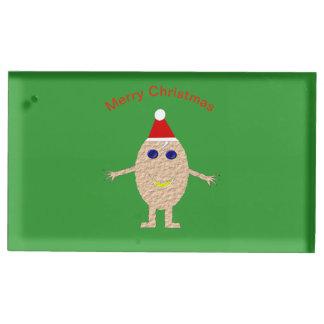 Suporte Para Cartão De Mesa Titular do cartão engraçado da mesa do ovo do