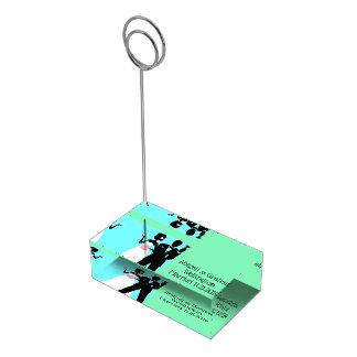 Suporte Para Cartão De Mesa Titular do cartão Wedding da mesa do casal