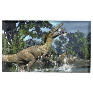 Suporte Para Cartões De Mesa Dinossauro de Austroraptor