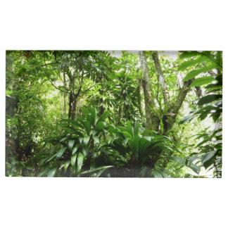 Suporte Para Cartões De Mesa Floresta tropical dominiquense mim natureza verde