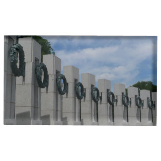 Suporte Para Cartoes De Mesa Grinaldas do memorial da segunda guerra mundial