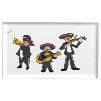 Suporte Para Cartoes De Mesa O Mariachi mexicano une desenhos animados