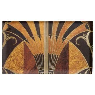 Suporte Para Cartões De Mesas arte Nouveau, art deco, vintage, multi cores de