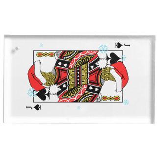 Suporte Para Cartões De Mesas Feliz Natal Jack das pás - adicione suas imagens