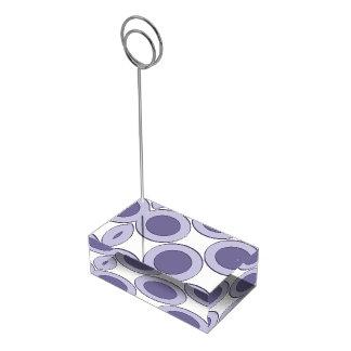 Suporte Para Cartoes De Mesas Ponto do Lilac