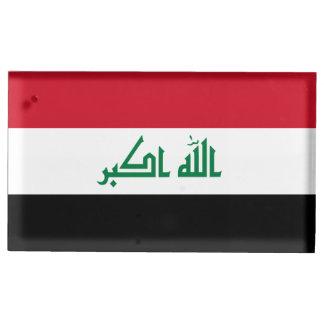 Suportes Para Cartao De Mesa Bandeira de Iraque