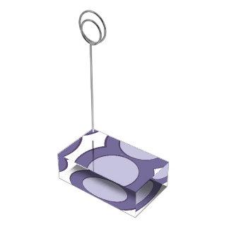 Suportes Para Cartão De Mesa Ponto do Lilac